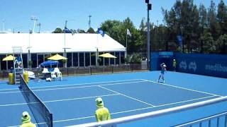Urszula Radwanska vs Jill Craybas WTA Sydney 2010