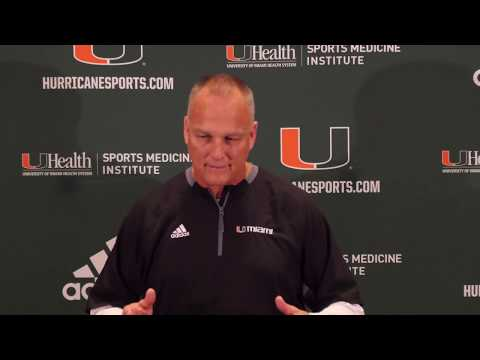 Coach Mark Richt | Press Conference | 10.30.2018