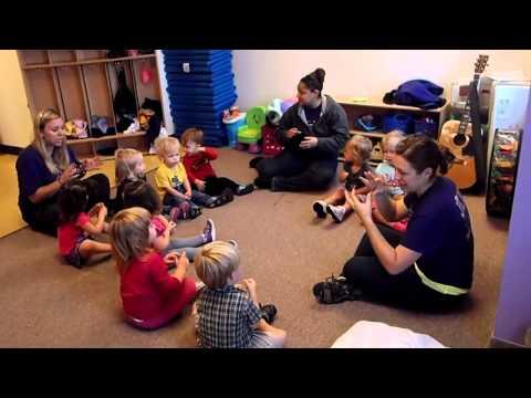 JLU Child Care Toddler Music Class, Video 2