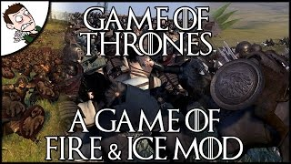 A GAME OF FIRE & ICE - Massive 10000 Man Battle - Game of Thrones Total War Conversion Mod
