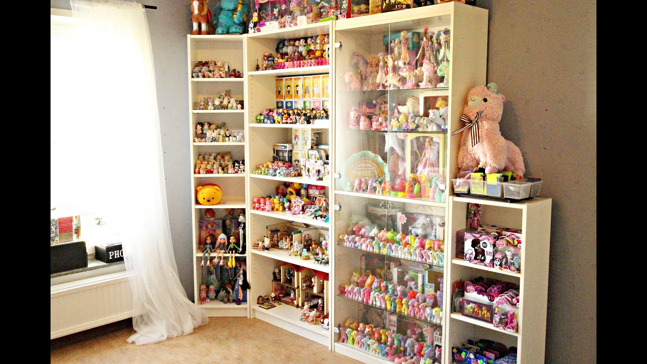 Toy Room Tour My Little Pony Lego Tsum Tsum Sylvanian