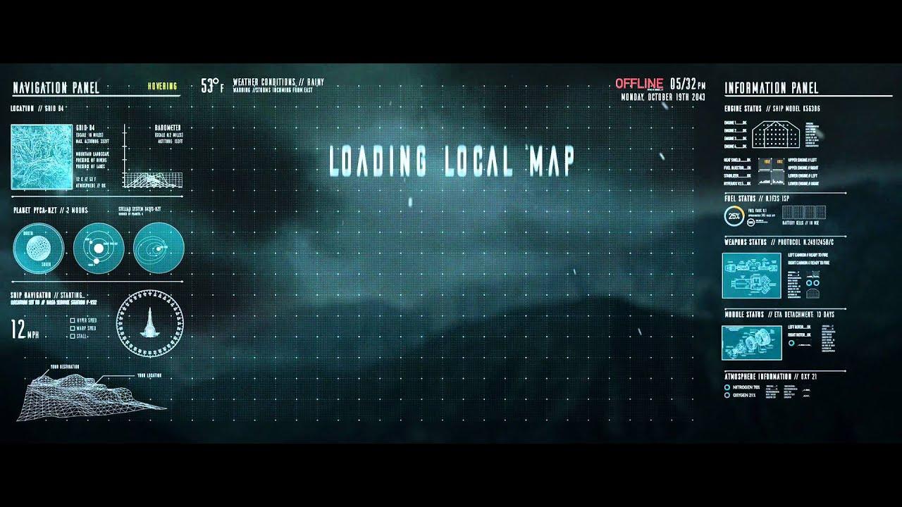 3d Max Wallpaper Texture Sci Fi Ui Mockup Youtube