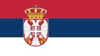 Bandera e Himno Nacional de Serbia - Flag and National Anthem of Serbia