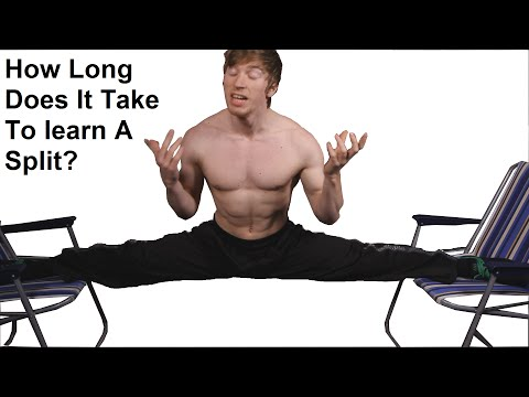 How Long Does It Takes To Learn A Split?