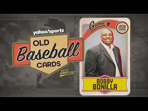 Bobby Bonilla opens 25-year-old baseball cards