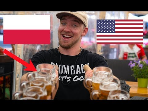 An AMERICAN visits POLAND! (First Reaction) (by @itsConnerSully)