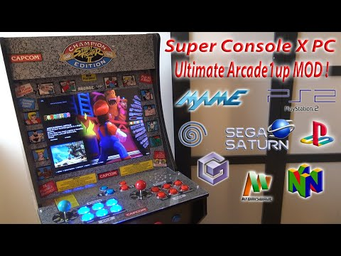 Super Console X PC Arcade1up / Arcade MOD from Wicked Gamer & Collector