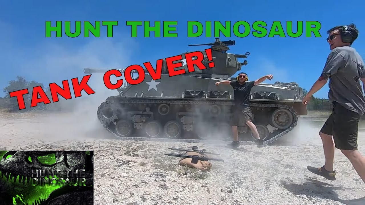 Hunt The Dinosaur, TANK COVER! (Destructo) Gun Drummer