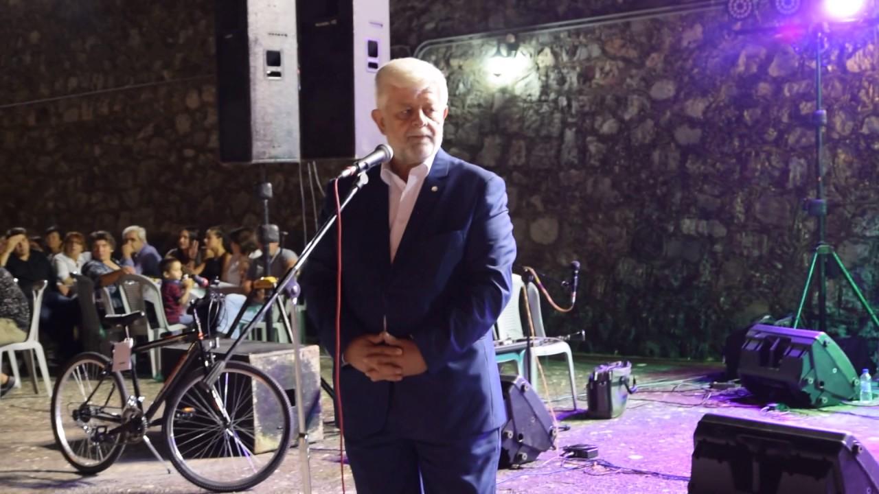 Ο Δήμαρχος Τρίπολης στο Αντάμωμα στο Λουκά Μαντινείας