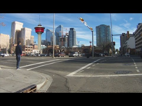 Downtown Calgary - City Cycling Tour