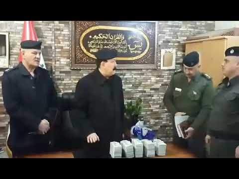 بالفيديو .. ابطال شرطة بغداد يعيدون نصف مليون دولار مسروق الى اصحابه