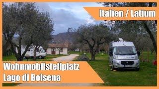Wohnmobilstellplatz am Lago di Bolsena
