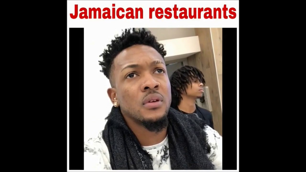 Ordering Food At Jamaican Restaurants)