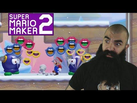 Mario Maker 2: No Skip Endless Super Expert Challenge #5 - The Worst Level So Far..