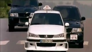 TAXI 2 : Peugeot 406 VS Mitsubishi Lancer Evo VI Dans Paris