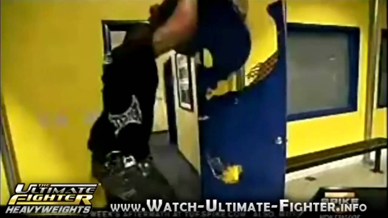 Rampage Jackson Vs Door Hd Youtube