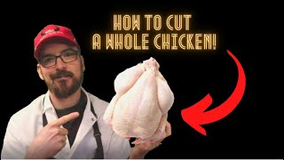 How to cut a wh๐le chicken!