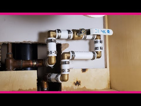 How To Replace Main Water Valve. Замена центрального водяного крана