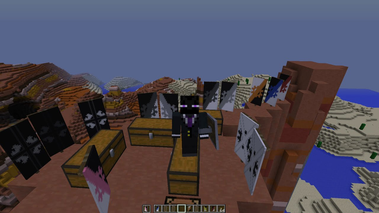 How To Make / Craft All 3 2b2t Banners, Veteran, Rusher And NEUTRAL  (logical design) by Suzuki Rat