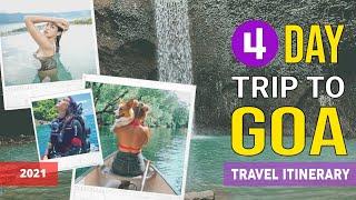 4 days trip to goa
