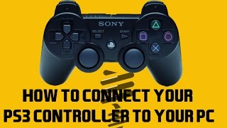 ps3 controller on pc without motioninjoy