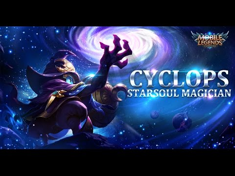 Mobile Legends Bang Bang New Hero Starsoul Magician Cyclops GAMEPLAY YouTube