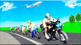 Real Super Bike Racing 3D 2018 - Gameplay Android game - motorcycle racing games