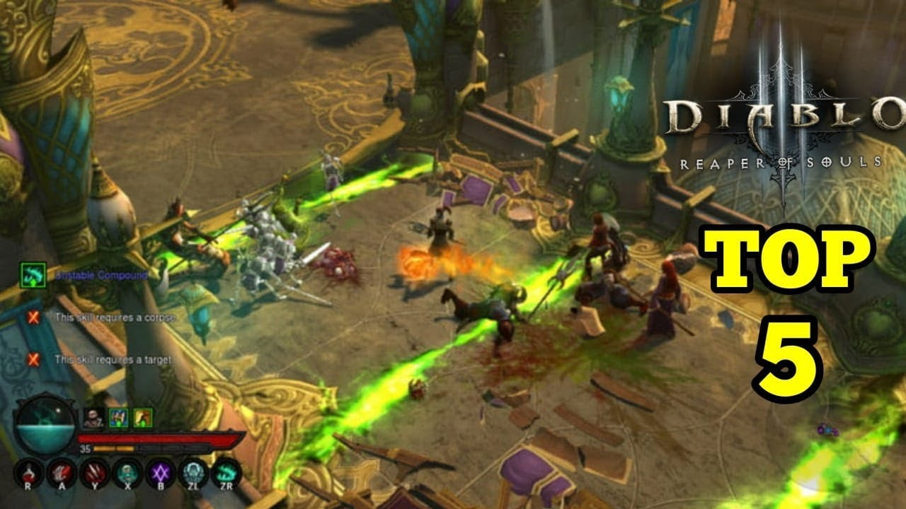 Top 5 Games Like Diablo For Android And Ios Of All Time