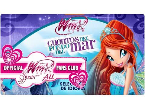 2nd DVD Menu Winx Club Season 5 [Latin Spanish]