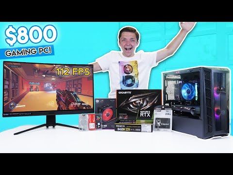 Epic $800 Gaming PC Build 2020! [RTX 2060 W/ 1440p Benchmarks!]