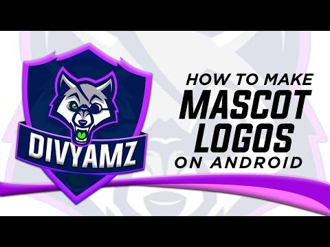 How To Make An ESports GAMING Mascot Logo On Android (PS TOUCH)(2019).