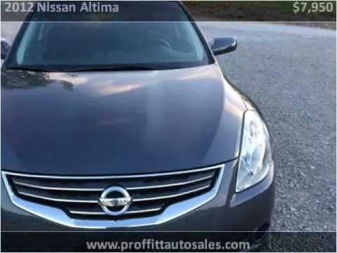 2012 Nissan Altima Used Cars Bowling Green KY