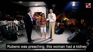 Kidney was shrinking, but Jesus healed her