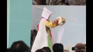 Korean Shamanism, a mudang (무당, 巫堂) / Tangol(당골).