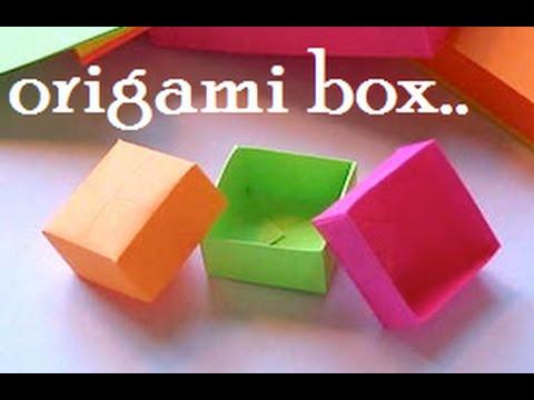 EASY PAPER BOX    DIY PAPER CRAFTS    ORIGAMI