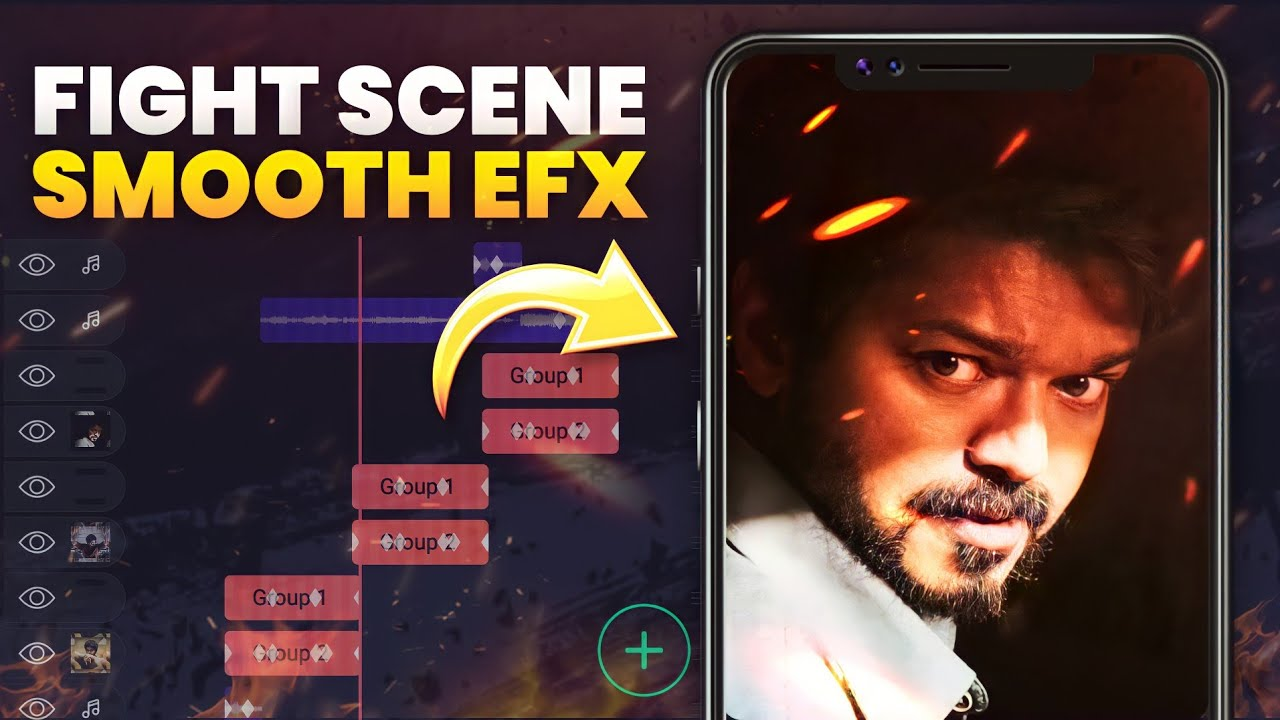 EFX Tutorial - Smooth Action Transition + Tricks On Alight Motion   Vibal Feahers Edits