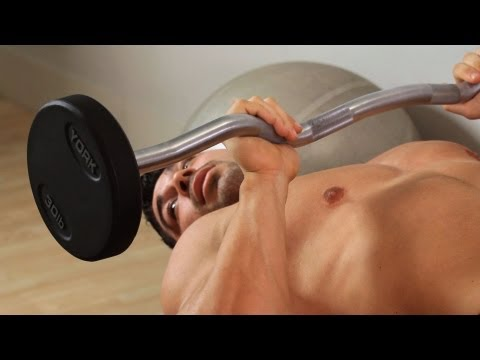 How to Do the Skull Crusher | Arm Workout