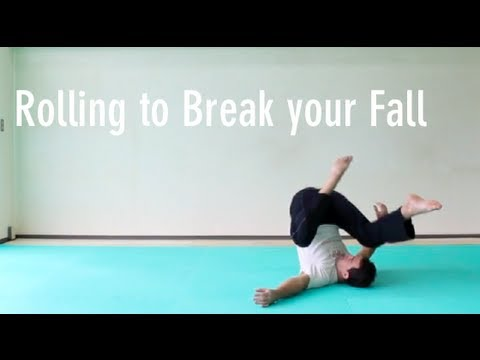 How To Roll To Break Your Fall - Basics From Floor