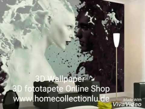 3d fototapete online shop youtube. Black Bedroom Furniture Sets. Home Design Ideas