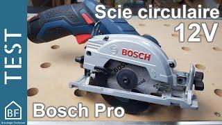Test Outillage : Scie circulaire 12v de Bosch Pro GKS 12V-26
