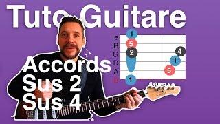 Tuto Guitare Sus 2 et Sus 4
