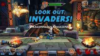 Dragon Warrior In Defenders & Dragons - Unlock Special Dragonmage
