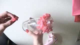 Diy How To Fold Plastic Flower By Table Cloth