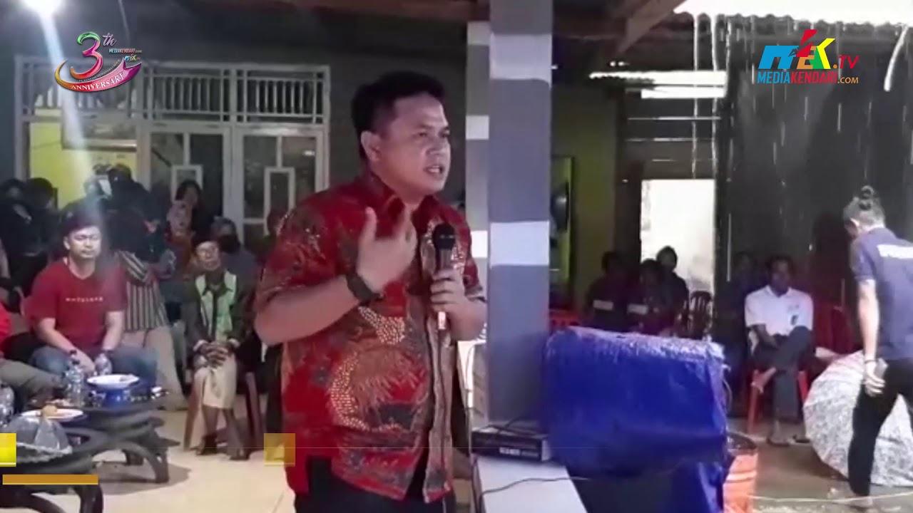 Berikan Pendidikan Politik, Masyarakat Tinanggea Siap Menangkan Rusmin Senawan