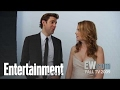 The Office: John Krasinski & Jenna Fischer Talk About Casting Their Families | Entertainment Weekly