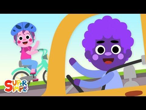 Cantec nou: Driving In My Car   Kids Songs   Super Simple Songs