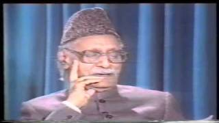 Qiyame Pakistan Aor Allama Iqbal  PTV Interview  by Allama Ghulam Ahmed Parwez part 04 of 06