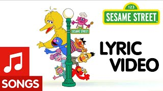 Sesame Street: This is My Street feat. Thomas Rhett | Animated Lyric Video