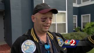 Veteran attacked after trying to stop animal abuse
