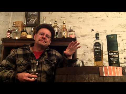 whisky review 549 - Bushmills 10yo Irish Whiskey
